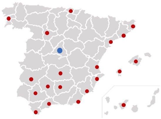 mapa aplicadores microcemento