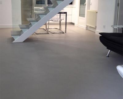 microcemento en suelos y escaleras