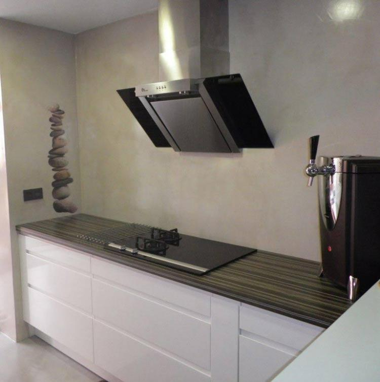suelos de cocina de microcemento microcemento stn