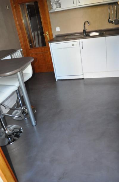 Microcemento stn fotosla evoluci n del microcemento - Microcemento paredes cocina ...