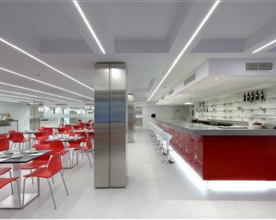 Restaurante Microcemento
