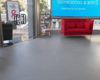 Suelo de Microcemento Resistone en Madrid