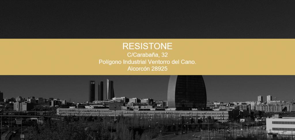 direccion de microcemento Resistone en Madrid